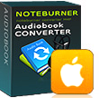 NoteBurner Audiobook Converter for Mac